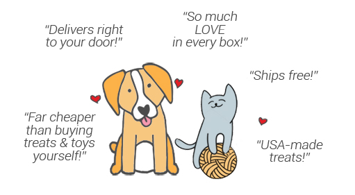 The Most Beloved Monthly Pet Boxes!