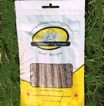 Farm Fresh Beef Dog Treats