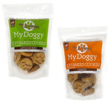 My Doggy Bites Soft Baked Cookies Dog Treats - Available in Cheesy and Apple Flavors