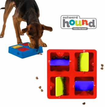 Tic Tac Twirl Dog Puzzle Game by Outward Hound - SHIPS FREE!