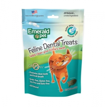Feline Dental Treat Oceanfish for Cats by Emerald Pet