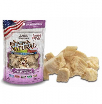 It's Purely Natural – 2oz Freeze Dried Chicken Treats by Loving Pets