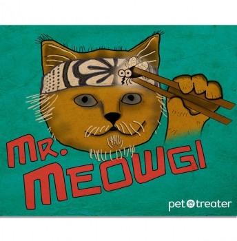 Mr. Meowgi Decal by Pet Treater