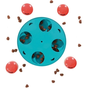 Outward Hound Treat Puzzle Wheel - Challenges Your Dog To Find The Treat!